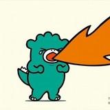 怪獣王ゴジラの幼少期「ちびゴジラ」絵本用PR映像でアニメ化