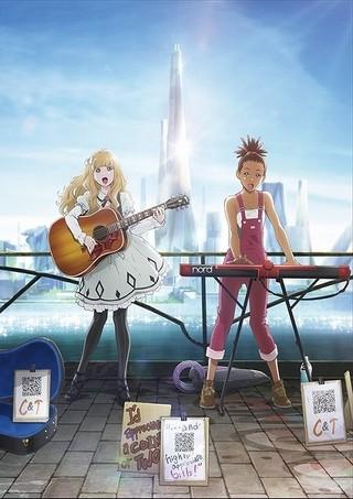 渡辺信一郎×ボンズ「キャロル&チューズデイ」少女が音楽奏でるビジュアルや予告完成