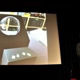 新海誠監督コラボVR映像に用いる球体スクリーン