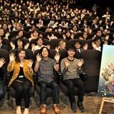 堤大介監督(前列左から3番目)の発案でトンコハウス映画祭が実現
