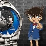コナン&怪盗キッドがデザインされた腕時計
