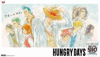 麦わらの一味が高校生に カップヌードルCM最新作「HUNGRY DAYS ワンピース ゾロ篇」公開