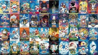 シリーズ全40作のポスター