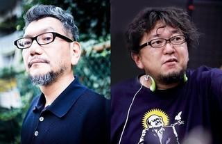 庵野秀明監督(左)と樋口真嗣監督