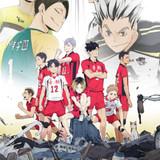 新作OVA「ハイキュー!! 陸VS空」キービジュアル