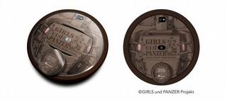 「ガルパン」IV号戦モチーフのロボット掃除機発売 渕上舞によるボイス45パターン収録