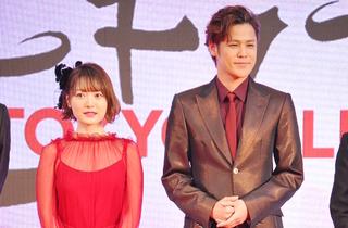 アニメ映画版「人間失格」の宮野真守(右)、花澤香菜