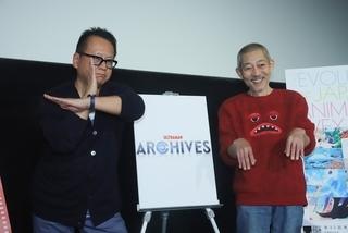 伊藤和典(右)と清水節氏