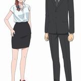松岡演じるメノア(左)と小野が担当する井村京太郎