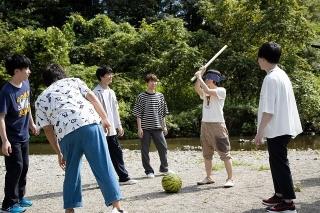 梅原裕一郎らがキャンプ満喫、その時白井悠介は…「劇場版 声優男子ですが…?」場面写真