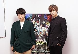 山下大輝&岡本信彦が「ヒロアカ」劇場版最新作を語る!