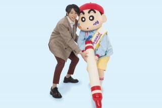 山田裕貴が「映画クレしん」でしんちゃんと対決