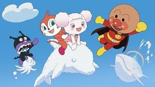 「アンパンマン」劇場版最新作のポスター完成 雲の子・フワリーのビジュアルが明らかに