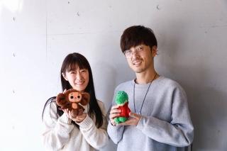 チェブラーシカ役の釘宮理恵(左)、ゲーナ役の櫻井孝宏
