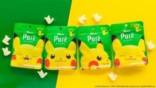 ピカチュウだらけ「ピュレグミ でんげきトロピカ味」が6月2日発売