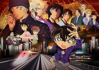「名探偵コナン 緋色の弾丸」21年4月に公開 青山剛昌の直筆イラストでコナンが「乗り越えて行こうね!」
