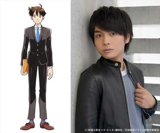 下田と上田のキャラクタービジュアルも披露