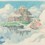 『天空の城ラピュタ』(1986)イメージボード 宮崎駿