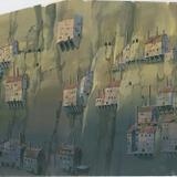 『天空の城ラピュタ』(1986)背景画