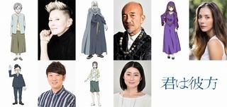 夏木マリ、竹中直人、土屋アンナ、仙道敦子、木本武宏(「TKO」)が参加