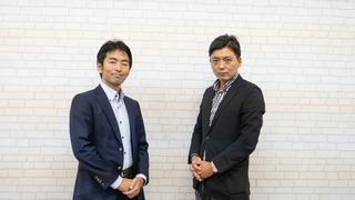 ブシロード海外営業本部・中山淳雄さん(左)と田口聖教さん