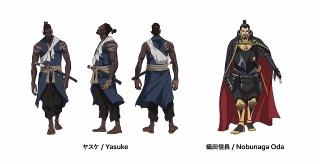 「Yasuke -ヤスケ-」キャラクターデザイン