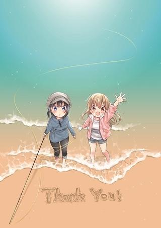 釣りで深まる姉妹の絆「スローループ」TVアニメ化決定