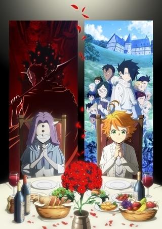【今期TVアニメランキング】「約束のネバーランド」第2期が初首位、「進撃の巨人」は2位