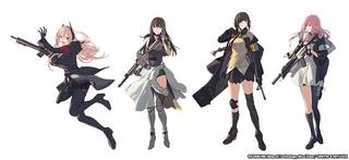 銃器を擬人化した「ドールズフロントライン」TVアニメ化 旭プロダクション制作で21年放送予定