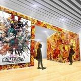 「ヒロアカ」原画展の会場イメージ画像