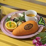 <ジュディ> 故郷のお野菜たっぷり!? サンドウィッチプレート