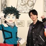 画像は、4月24日「僕のヒーローアカデミア展 DRAWING SMASH」にて撮影