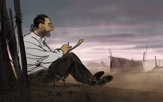避難先のフランスの強制収容所で難民となった、実在の画家ジュゼップ・バルトリ