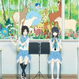 BS12でアニメ映画「夏目」「きみ声」「ペンギン・ハイウェイ」「リズと青い鳥」「弱ペダ」「河童のクゥ」連続放送