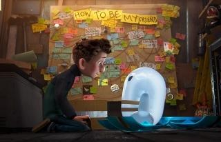 友達を探す少年と最新式のロボット型デバイスの冒険を描く