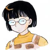 高橋留美子氏の自画像