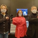 エンディング主題歌を担当する(左から)宮川彬良、平原綾香、森雪之丞