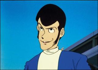 人気投票テレビシリーズ第2位のPART1・第1話「ルパンは燃えているか・・・・?!」場面写真