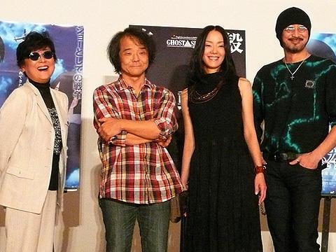 押井守監督が日本のアニメの未来を見据えた「攻殻機動隊2.0」初日