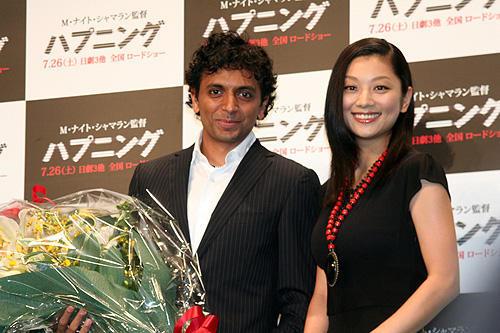 シャマラン監督から新婚の小池栄子へ、嬉しい「ハプニング」 - 画像3