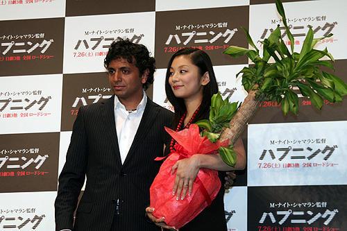 シャマラン監督から新婚の小池栄子へ、嬉しい「ハプニング」 - 画像7