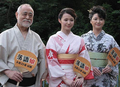 粋な津川にミムラも伊藤も惚れ惚れ