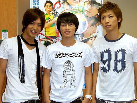 D-BOYSの3人が自転車ロードレースの魅力を語る!「シャカリキ!」