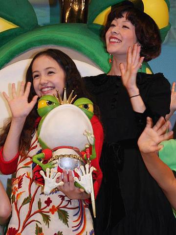 木村カエラ、アヤカ・ウィルソンに完敗?「パコと魔法の絵本」試写会