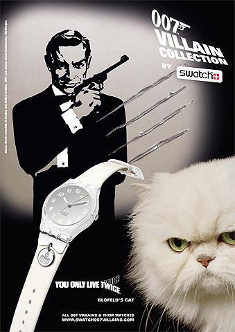 スウォッチ新作「007/ヴィラン・コレクション」、10月1日より発売