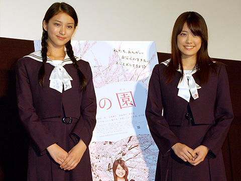 福田沙紀が高校生活について後輩にアドバイス!「櫻の園」試写会
