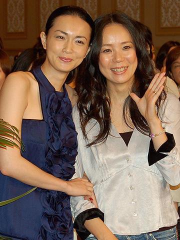長谷川京子と河瀬直美監督が暴露合戦!「七夜待」女性限定試写会