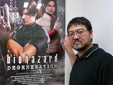 「バイオハザード」がCG映画に!神谷誠監督が見どころを語る