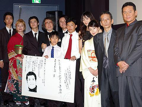 大林宣彦監督が故・峰岸徹さんを偲ぶ。「その日のまえに」舞台挨拶