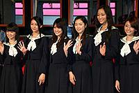(左から)大島優子、武井咲、福田沙紀、寺島咲、杏、はねゆり